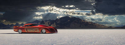 Salt Flat Photograph - 9913 by Keith Berr