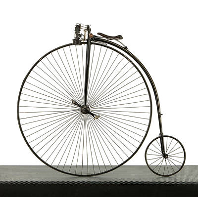 Penny Farthing Photograph - A 52 Inch Ordinary Bicycle, Cerca 1880 by Panoramic Images