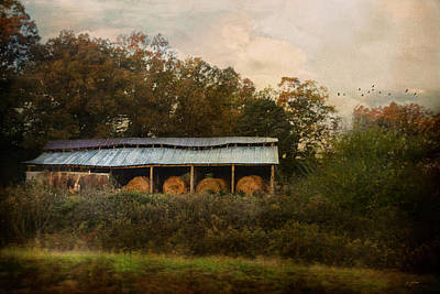 Barn In Tennessee Photograph - A Barn For The Hay by Jai Johnson