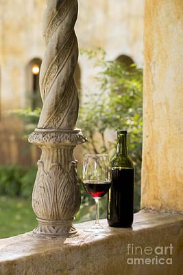 Napa Photograph - A Beautiful Day For Wine by Jon Neidert