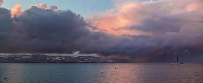 Winter Storm Photograph - A Beautiful Storm by Brad Scott