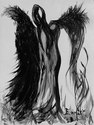 A Beckoned Welcome Of The Dancing Void Print by Christophe Ennis