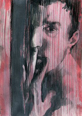 Abuse Painting - A Boy Named Silence by Rene Capone