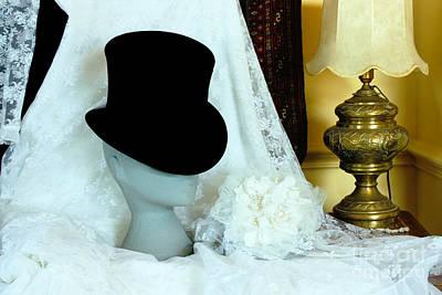 Bride Photograph - A Bridal Scene by Terri Waters