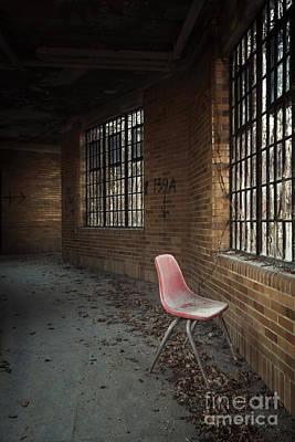 Asylum Photograph - A Broken Serenade by Evelina Kremsdorf