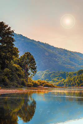 Arkansas Digital Art - A Buffalo River Morning  by Bill Tiepelman
