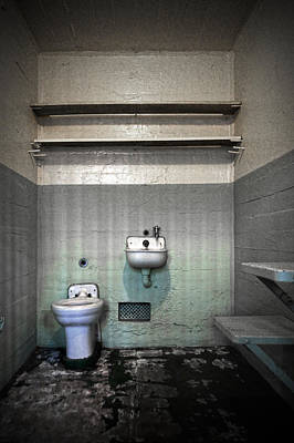 A Cell In Alcatraz Prison Print by RicardMN Photography