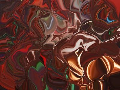 Unreal Digital Art - A Chest Of Cedars by Jim Williams