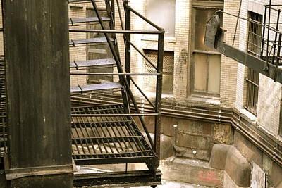 Chicago Photograph - A Chicago Alley by Joshua Eiermann