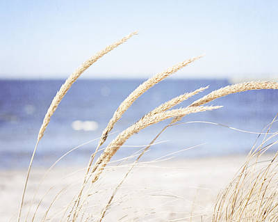 Beach Photograph - A Child Of The Summer Breeze by Carolyn Cochrane