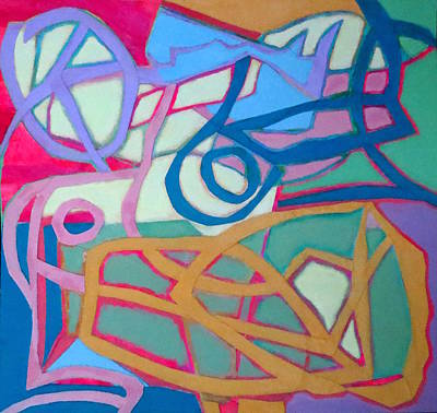 Mixed Media - A Chord by Diane Fine