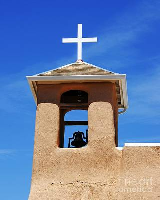Taos New Mexico Photograph - A Church Bell In The Sky 2 by Mel Steinhauer