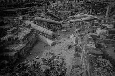 River Jordan Photograph - A City Falls by David Morefield
