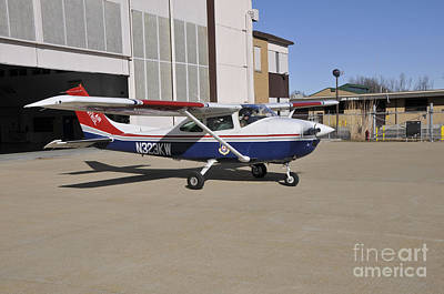 A Civil Air Patrol Aircraft Print by Stocktrek Images