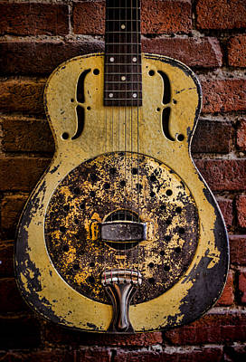 Guitar Photograph - A Classic by Heather Applegate