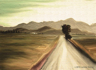 A Classic Landscape Print by Lenore Senior