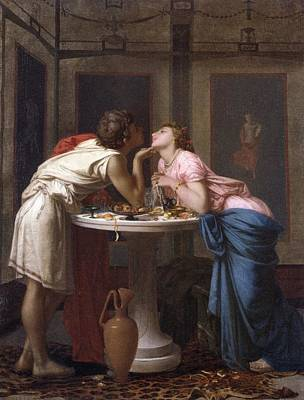 Male Painting - A Classical Courtship by Celestial Images