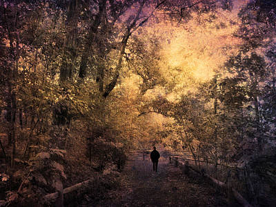 Alone Digital Art - A Clearing by Jessica Jenney