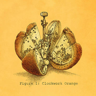 A Clockwork Orange Option Print by Eric Fan