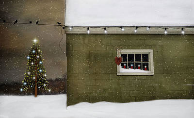 Lee Winter Photograph - A Common Thread Christmas by Robin-lee Vieira