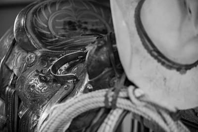 Del Rio Tx Print featuring the photograph A Cowboy's Gear by Amber Kresge