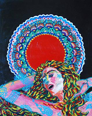 Sahasrara Painting - A Dance For Sahasrara by Christina  Martine