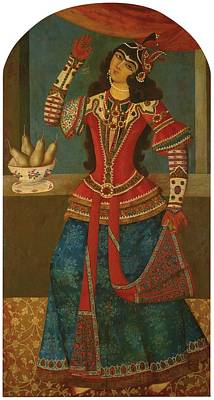 Mecca Painting - A Dancing Girl by Celestial Images