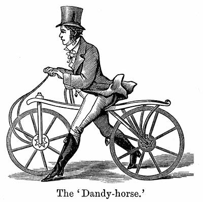 A Dandy-horse Print by Universal History Archive/uig