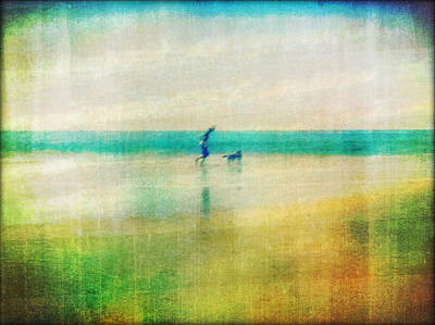 Companion Digital Art - A Day By The Sea by Suzy Norris