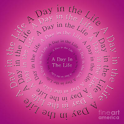Mccartney Digital Art - A Day In The Life 1 by Andee Design