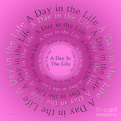 Ringo Digital Art - A Day In The Life 2 by Andee Design