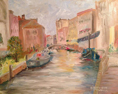 Life In Italy Painting - A Day In The Life by Shannon O'Donnell Shannon Gurley O'Donnell