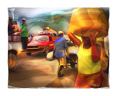 Busy Digital Art - A Day's Work by Bob Salo