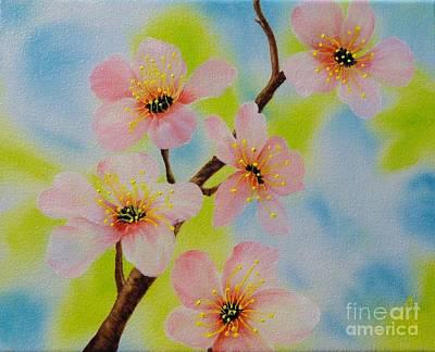A Dream Of Spring Print by Carol Avants