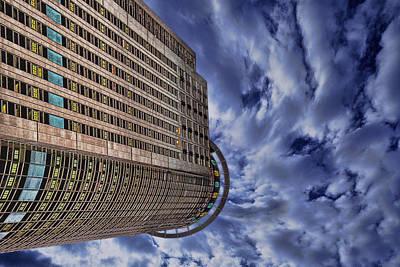 A Drifting Skyscraper Print by Ron Shoshani