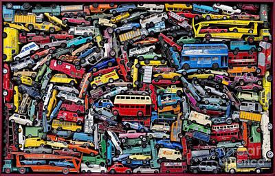 A Drive Down Memory Lane Print by Tim Gainey