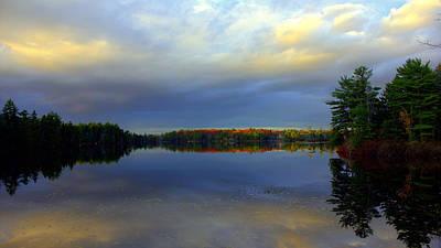 Acadia National Park Photograph - A Fall Glow by Glenn Curtis