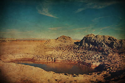Crater Digital Art - A Far Off Place by Laurie Search