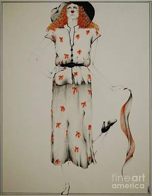 A Fashion Statement Print by Joy Bradley