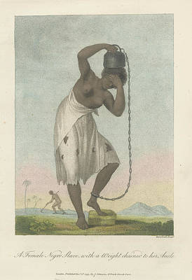 Slaves Photograph - A Female Negro Slave by British Library