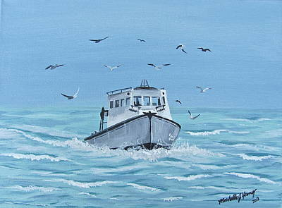 A Fishermen's Journey 2 Original by Michelle Young