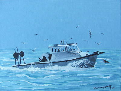 A Fishermen's Journey Original by Michelle Young