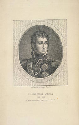 A French Marshal Print by British Library