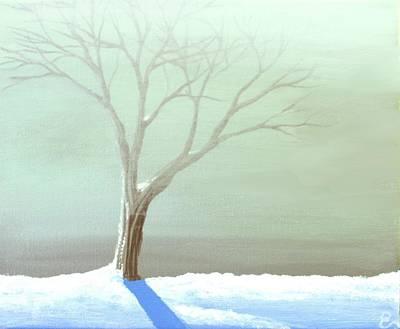 A Frosty Fog Print by Erin Scott
