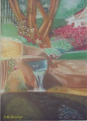 Painting - A Garden Of Peace by Robert Bray