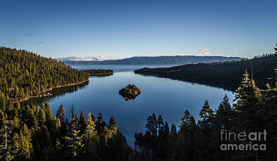 A Generic Photo Of Emerald Bay Print by Mitch Shindelbower