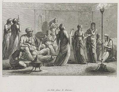 A Harem Print by British Library