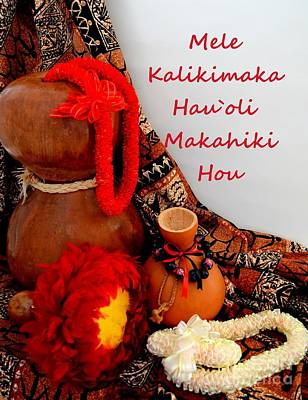Photograph - A Hawaii Christmas by Mary Deal