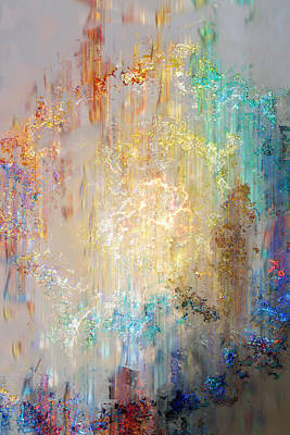 A Heart So Big - Custom Version 2 - Abstract Art Print by Jaison Cianelli