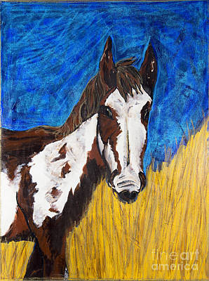 A Horse Of Course Print by Becca Lynn Weeks
